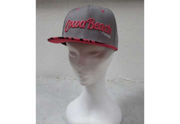 Immagine di Cappellino Cocoa beachanimal print zebra - Gray and pink