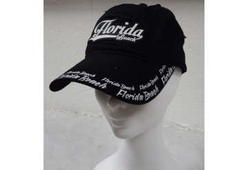 Immagine di Cappellino Florida rubber patch - black