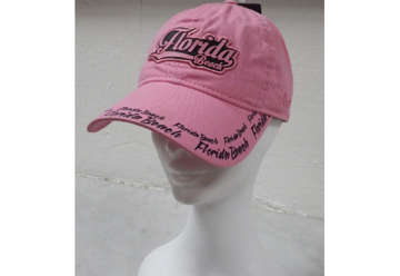 Immagine di Cappellino Florida rubber patch - light pink