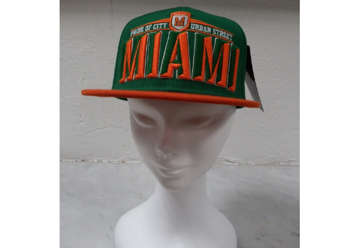 Immagine di Cappellino Miami urban city green and orange