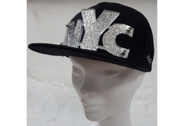 Immagine di Cappellino New York city black and silver