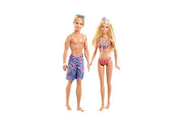Immagine di Barbie e Ken Beach Ass.to