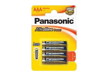 Immagine di Pile PANASONIC Mini Stilo AAA 7Y