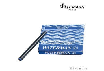 Immagine di Cartuccie stilo Waterman blu (8 pz)