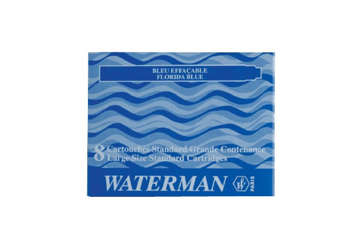 Immagine di Cartuccie stilo Waterman celesti (8 pz)