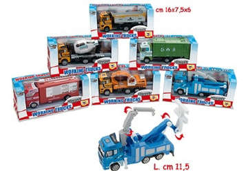 Immagine di Die Cast Working Trucks 6 Modelli Assortiti
