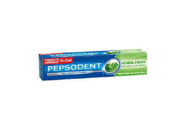 "Immagine di Dentifricio Pepsodent 75+25 ml ""Herbal Fresh"""
