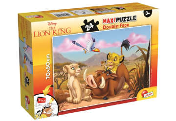 Immagine di PUZZLE Supermaxi 24 RE LEONE