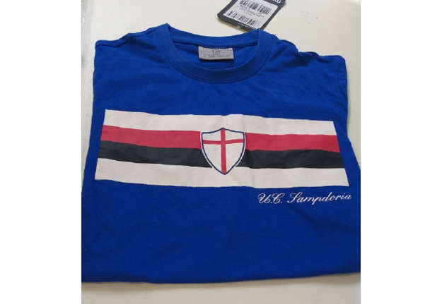 Immagine di T-shirt MACRON Sampdoria Royal/BLC 12M