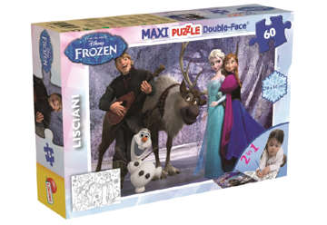 Immagine di PUZZLE Supermaxi 60 FROZEN MUSIC AND FUN
